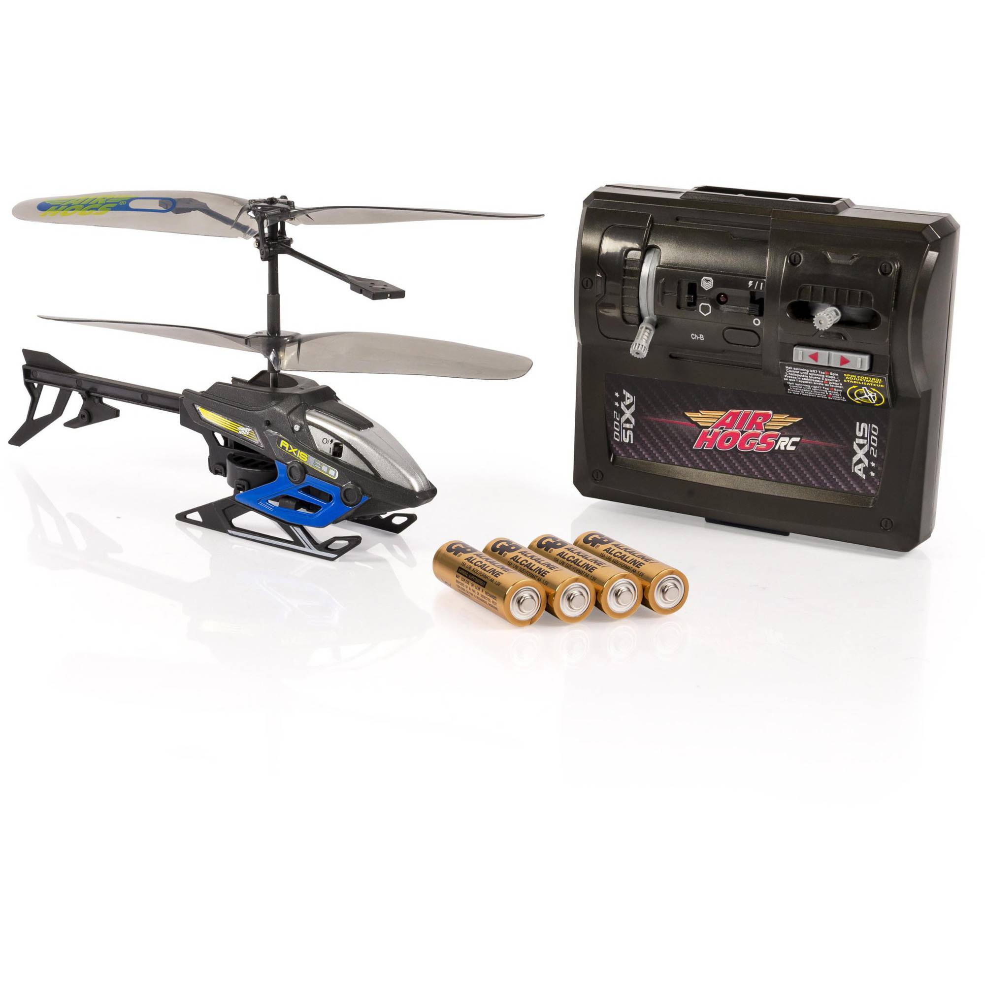 Air Hogs Axis 200 R C Helicopter with Batteries, Black by