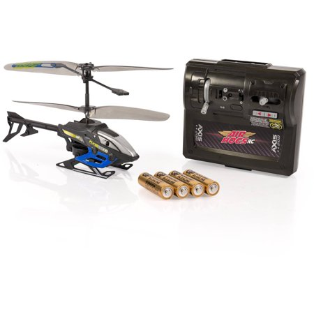 Image of Air Hogs Axis 200 R/C Helicopter with Batteries, Black