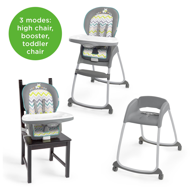 ingenuity trio 3 in 1 high chair ridgedale walmart com