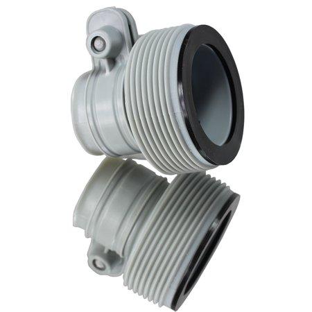 2 Intex Filter Pump Threaded Hose Conversion (Pump Head Conversion)