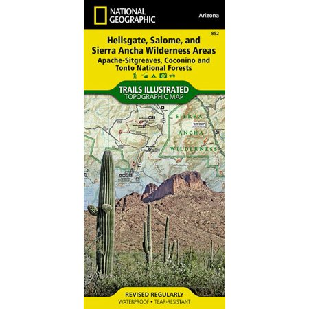 National Geographic Trails Illustrated Topographic Map Hellsgate