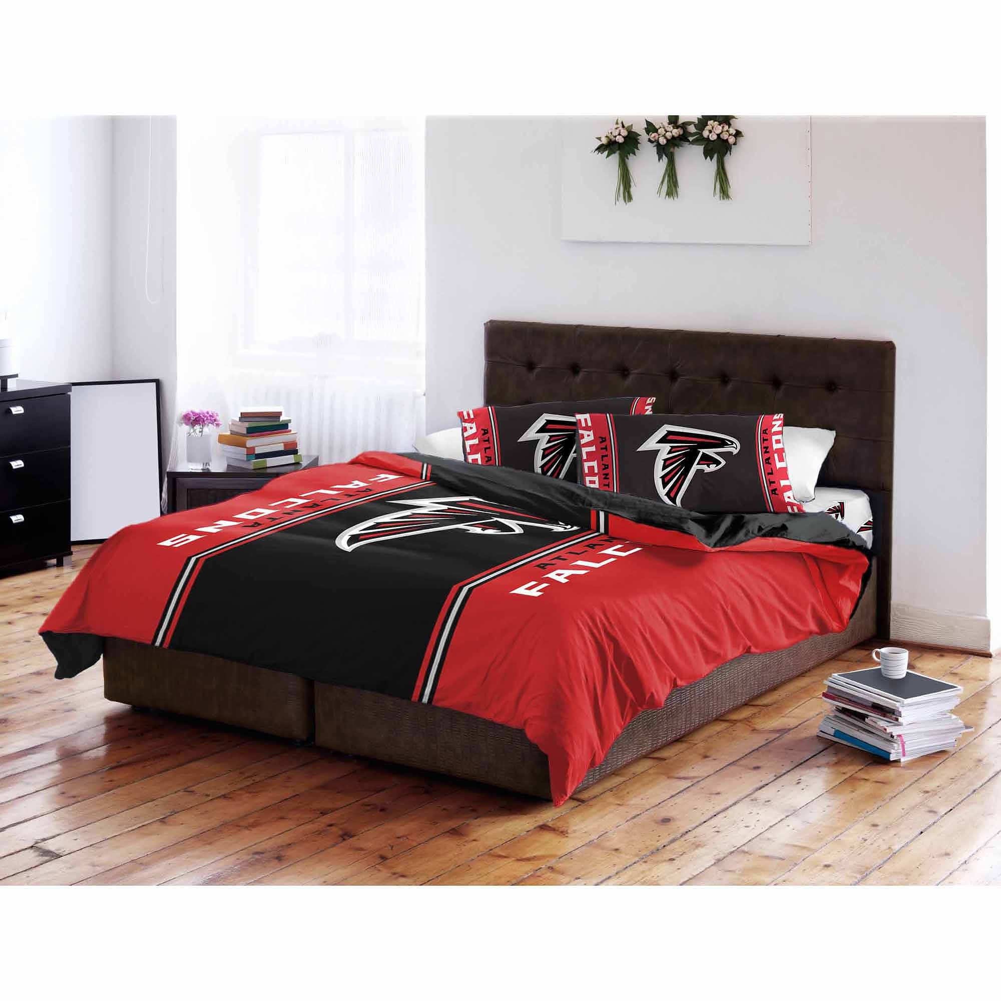 NFL Atlanta Falcons Twin Full Bedding forter Walmart