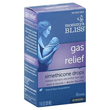 Mommy s Bliss  Gas Relief  Simethicone Drops  Newborn   1 fl oz  30 (Best Way To Relieve Newborn Gas)