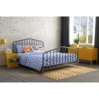 9 By Novogratz Bright Pop Full Metal Bed Multiple Colors