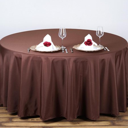 Balsacircle 90 Quot Round Polyester Tablecloth Wedding Table