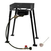 "King Kooker CS14 25"" Portable Outdoor Propane Single Burner Camp Stove"
