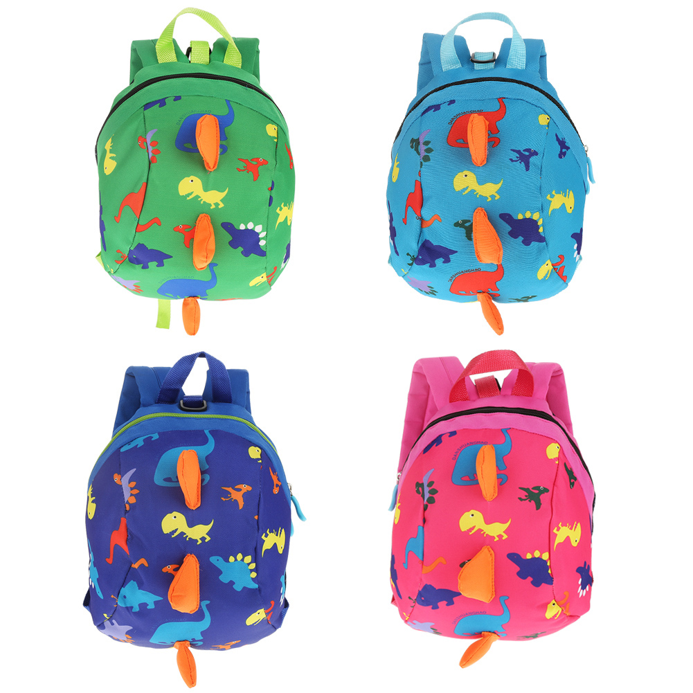 Keenso Cute Cartoon Dinosaur Baby Safety Harness Backpack Toddler Anti-lost Bag Children Schoolbag,Baby Safety Harness Backpack, Baby Safety Backpack