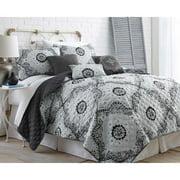 Amrapur Overseas Amraupur Overseas Delany 6-piece Grey Quilt Set