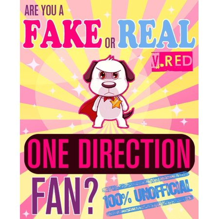Are You a Fake or Real One Direction Fan? Red Version - The 100% Unofficial Quiz and Facts Trivia Travel Set Game -