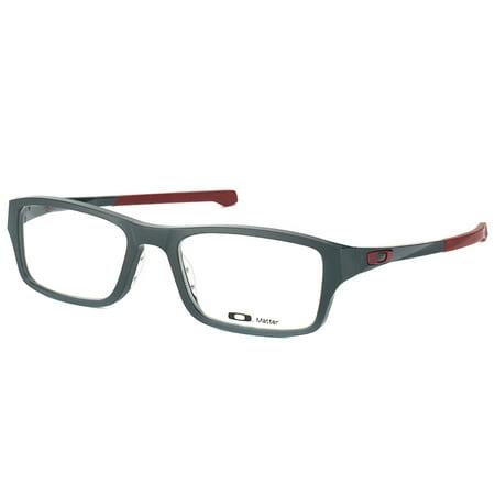 cf7690e484b Oakley Chamfer OX8039 03 49mm Unisex Rectangular Eyeglasses - Walmart.com