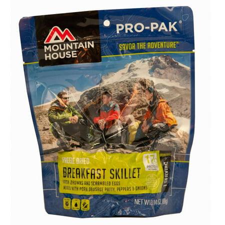 MOUNTAIN HOUSE BREAKFAST SKILLET PRO-PAK (5 Best Breakfast Foods)