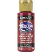 DecoArt Americana Acrylic Color, 2 oz., Cherry Red
