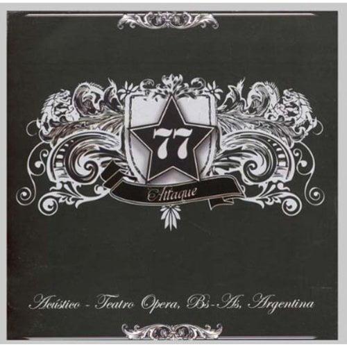 Attaque 77 - Acustico Teatro Opera [CD]