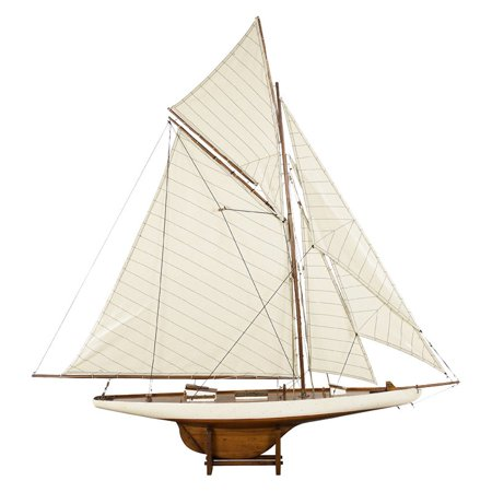 Authentic Models American's Cup Columbia 1901 Yacht - Medium