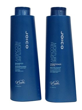 Joico Moisture Recovery Shampoo And Conditioner Liter Duo Set(33.8Oz)