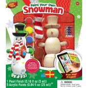 MasterPieces Works of Ahhh?Snowman Holiday Wood Paint Kit