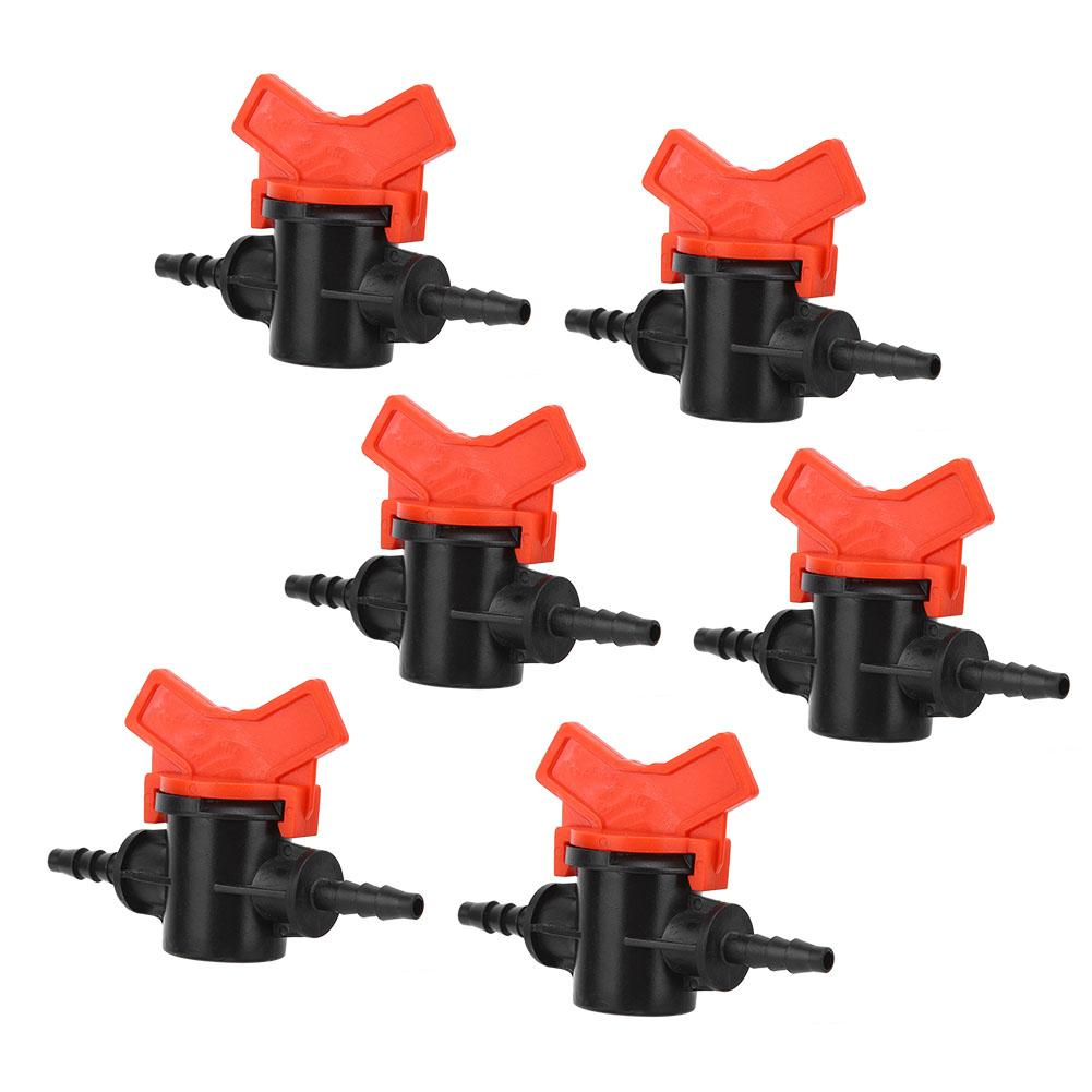 Garden In Line Valve Switch Hoses Irrigation Plastic Tap Watering 10X Durable