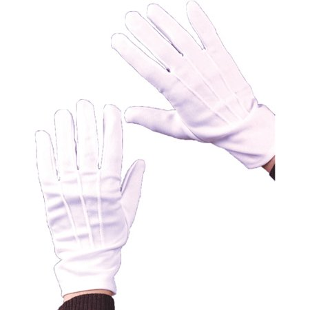 Theatrical Halloween Adult Gloves With Snap - Snap Judgment Halloween