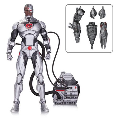 DC Icons Cyborg Justice League Forever Evil Deluxe Action Figure Dc Direct Deluxe Collector Figures