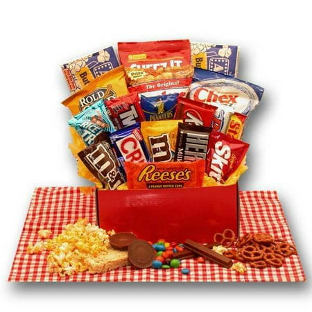 Gift Basket Drop Shipping All American Favorites Snack Care Package (American Gift Basket)