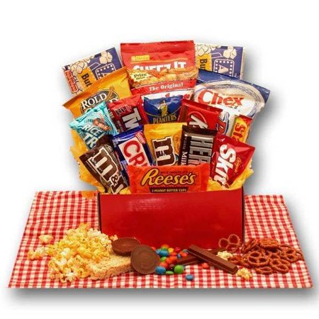 Gift Basket Drop Shipping All American Favorites Snack Care Package ()