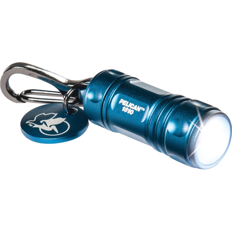 Pelican 16-Lumen ProGear 1810 LED Keychain Flashlight, Blue, 018100-0100-120