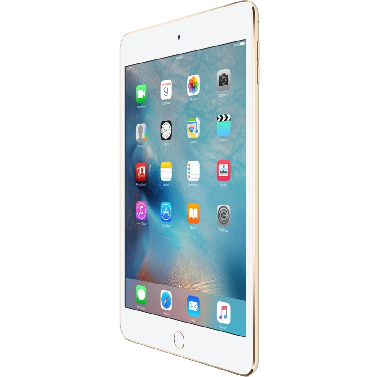 Apple Ipad Mini 4 Tablet 7 9 64 Gb Storage Ios 9 4g Gold Walmart Com Walmart Com