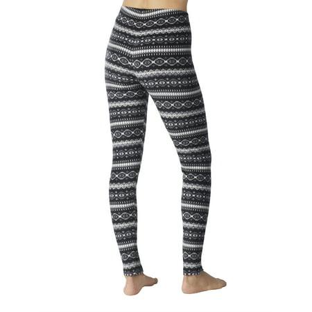 cccb0a2bd677 ClimateRight by Cuddl Duds - Women's Stretch Fleece Warm Underwear Leggings  - Walmart.com