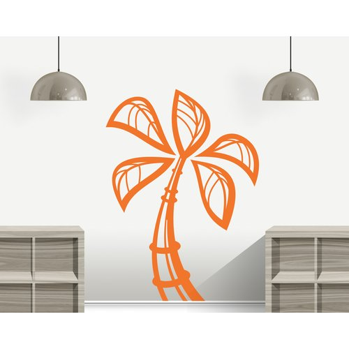 Zoomie Kids Kohan Palm Tree Wall Decal