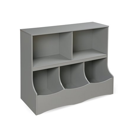Badger Basket Multi-Bin Storage Cubby, Gray
