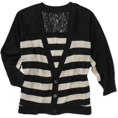 Women's Striped Button Up Loose Top