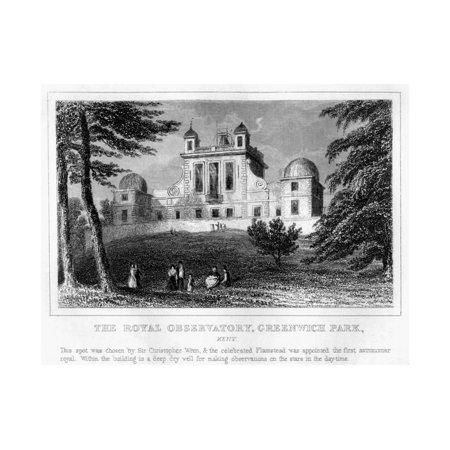 The Royal Observatory, Greenwich, London Print Wall Art