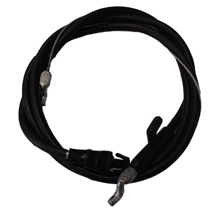 """MTD Control Cable for 22"""" Deck Series 038 Both Ends Have Z Bends 746-1130 946-1130 Conduit Length 40"""" Wire Length 53"""""""