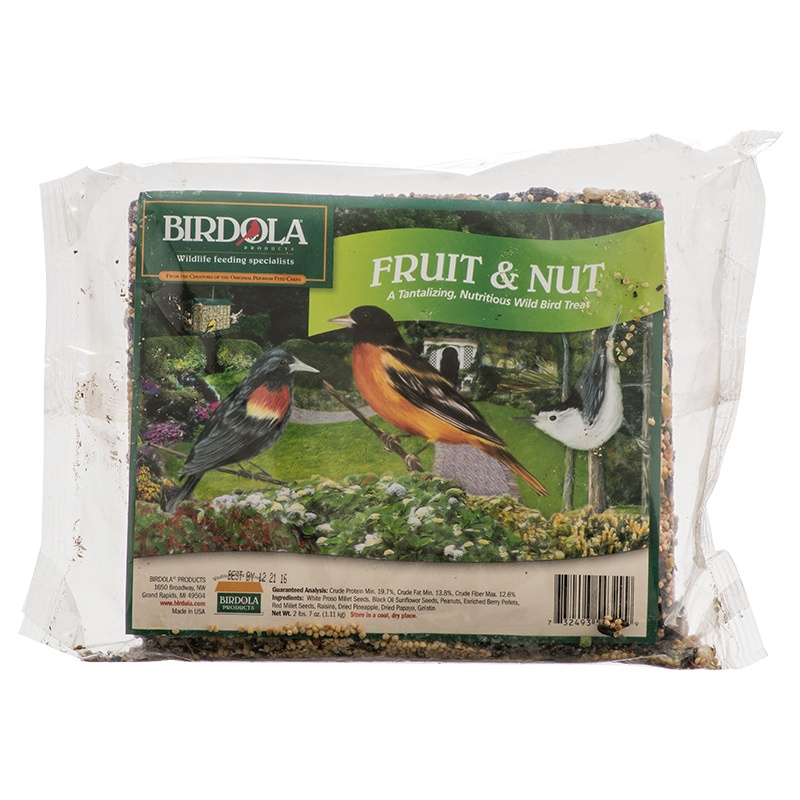 Birdola Fruit And Nut Seed Cake
