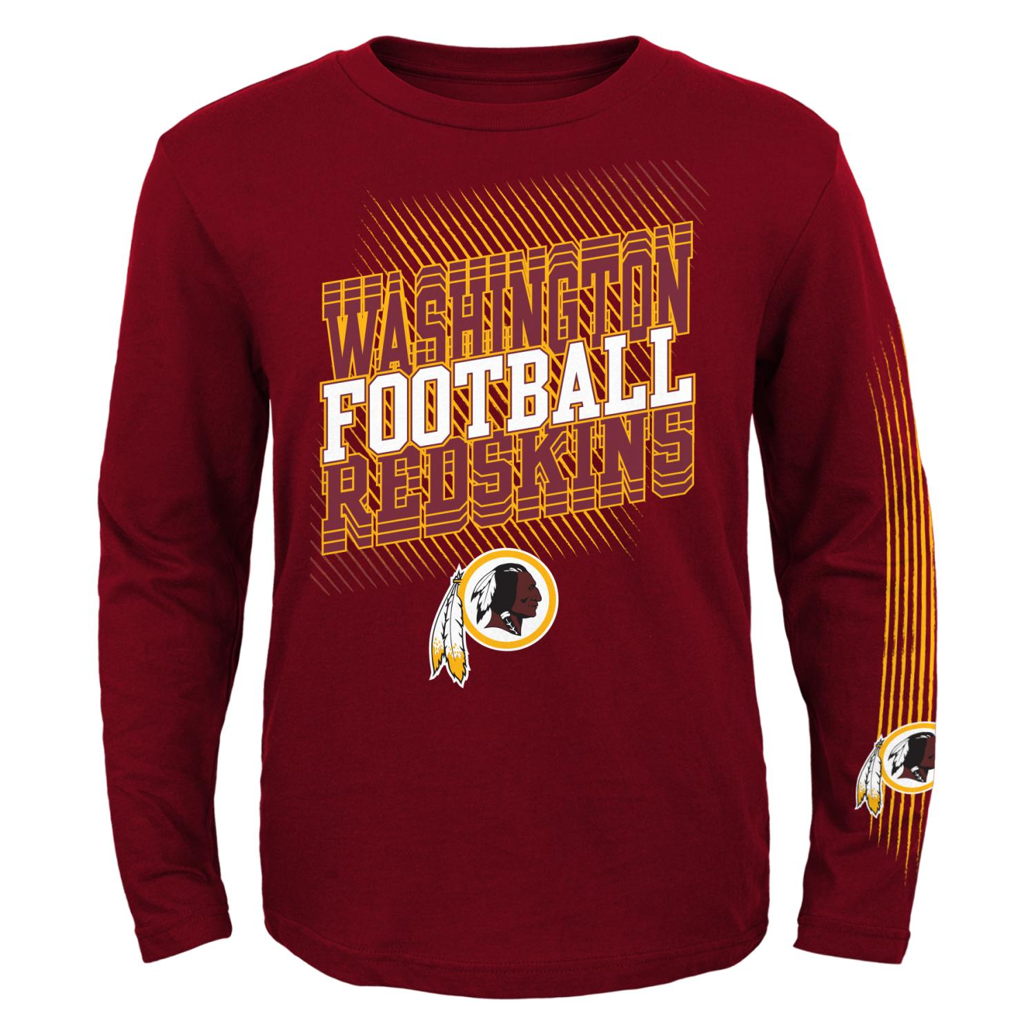 "Washington Redskins Youth NFL ""Frequency"" Long Sleeve T-Shirt"