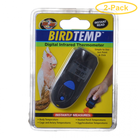 Zoo Med BirdTemp Digital Infrared Thermometer 1 Pack - Pack of