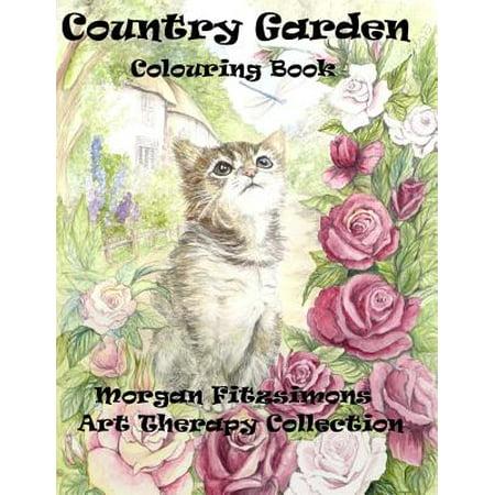 Country Garden Colouring Book : Art Therapy (Garden Therapy)