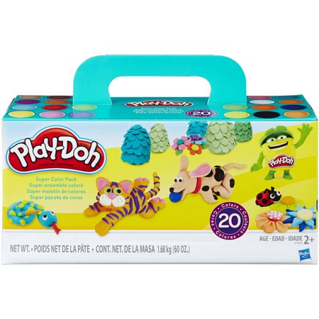 Play-Doh Super Color 20 Pack, 60 oz