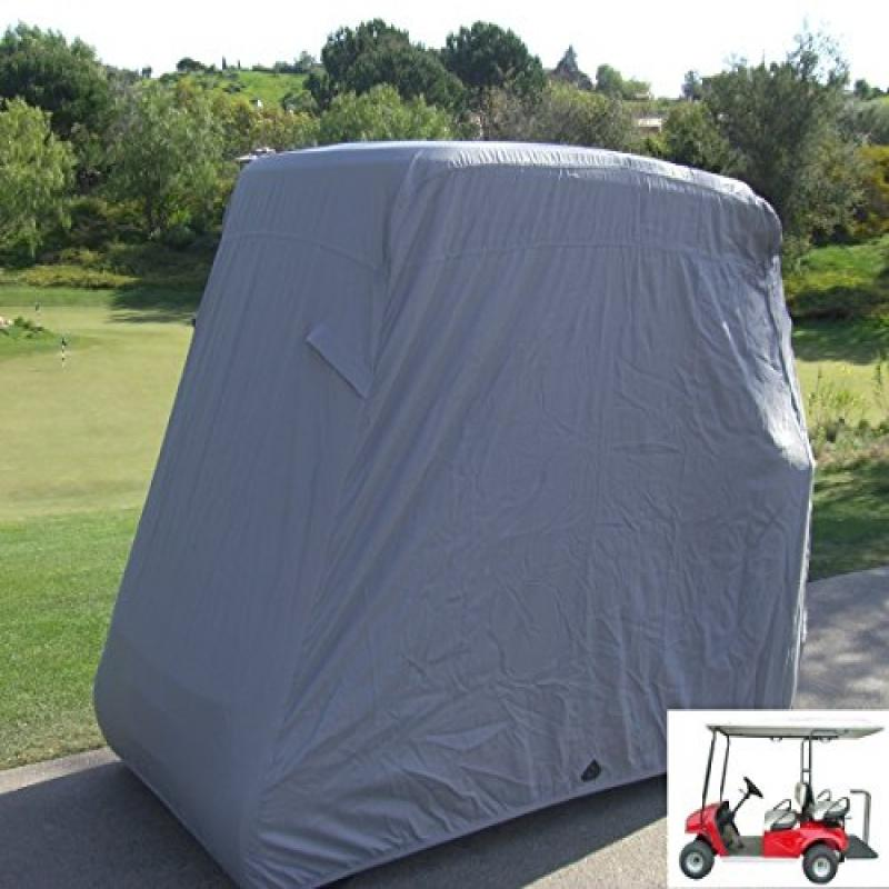 "Formosa Covers Deluxe 4 Passenger Golf Cart Cover roof 80""L Grey, fits E Z GO, Club Car and Yamaha G... by Formosa Covers"