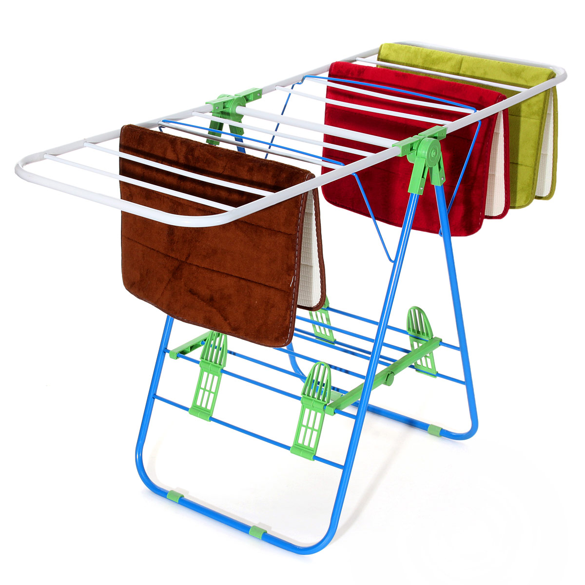 Awesome Laundry Clothes Storage Drying Rack Portable Folding Heavy Duty Dryer Hanger