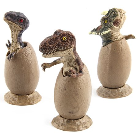 Halloween Egg Casserole (3PCS Children's Educational Toys Simulate Jurassic Dinosaur Eggs Half Hatched for Christmas or Halloween Presents Style:Dinosaur)