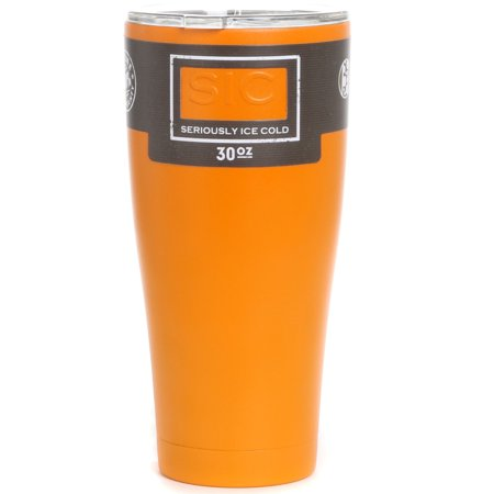 SIC Cups 30 oz. Glacier V2 Stainless Steel Double Wall Insulated Tumbler Bottle for $<!---->