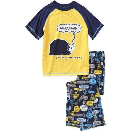 Diary of a wimpy kid boys 2 piece poly pajama set walmart diary of a wimpy kid boys 2 piece poly pajama set solutioingenieria Choice Image
