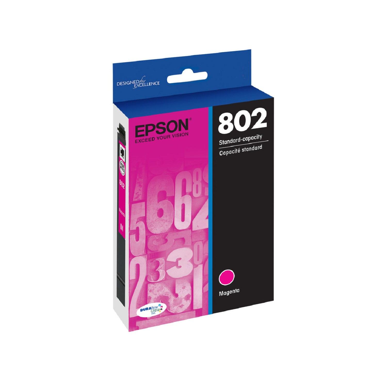 Epson 802 Standard-capacity Magenta Ink Cartridge by Epson