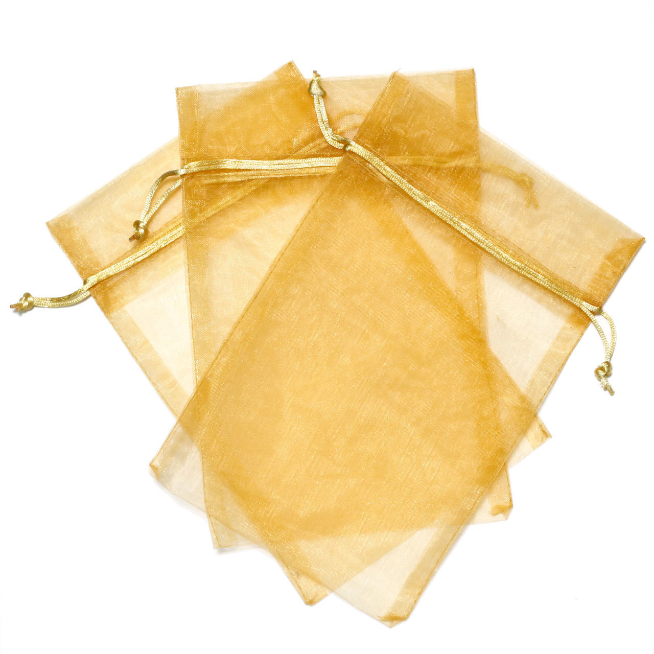 "30 Organza Bags Fabric Gift Party Bags - 5.5"" By 9"""