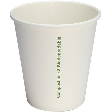 Genuine Joe Compostable Paper Cups, 10 oz, 1000 count, GJO10214CT