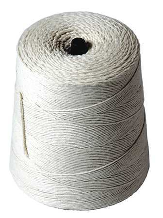 Butchers Twine,Cotton Twisted,1625 ft. L by SAN JAMAR