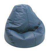 Adult Lifestyle Pure Bead Bean Bag-Vinyl Color:Cobalt Blue