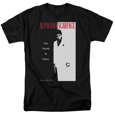 Mens Unit (Scarface Classic Mens Short Sleeve Shirt )