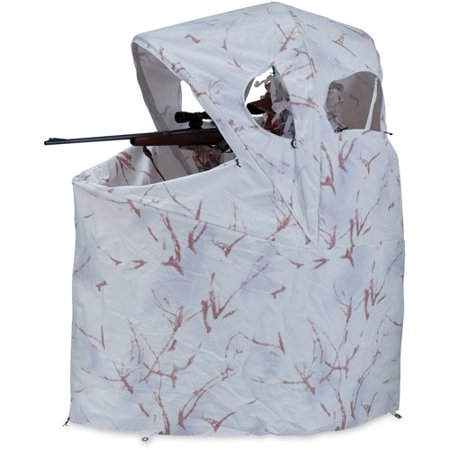 Ameristep Chair Blind Snow Camo Model 88 Walmart Com
